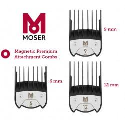 PACK PEINES MAGNETICOS 6, 9 Y 12 mm